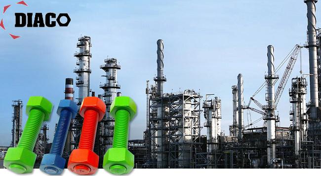 کاربردهای پیچ و مهره در صنعت نفت و گاز
