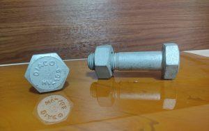 نمونه تولیدی پیچ و مهره استاندارد